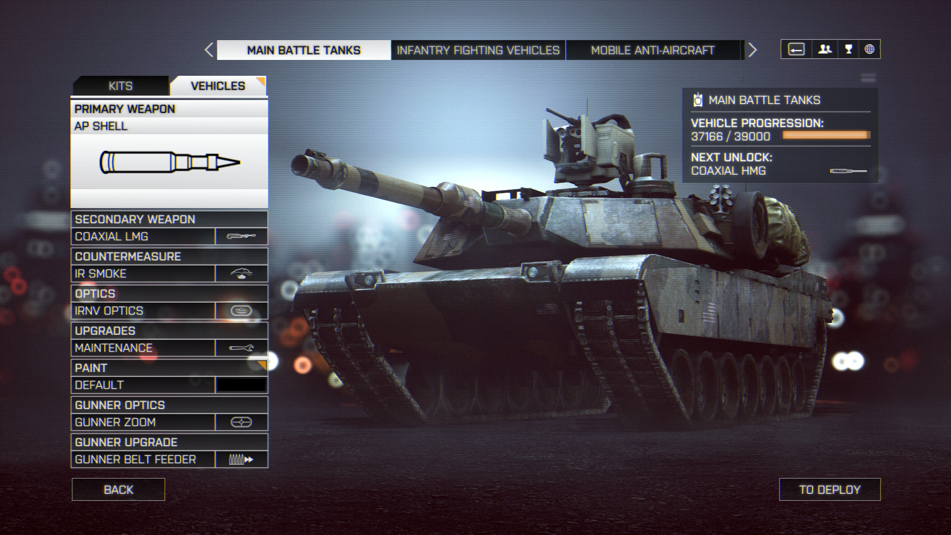 Battlefield 4 Customize vehicle